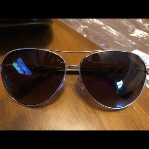 New Coach brown gradient sunglasses